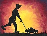 Sunshine Lawn Care Logo